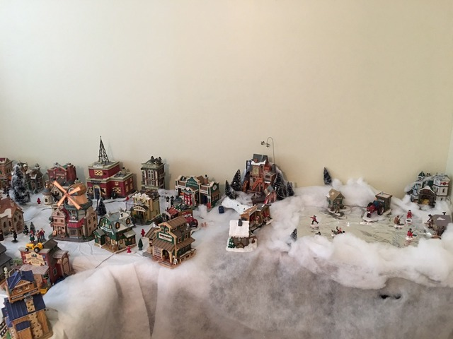 Menards Christmas Village.Lemax Christmas Village Menards Collection In Stanwood