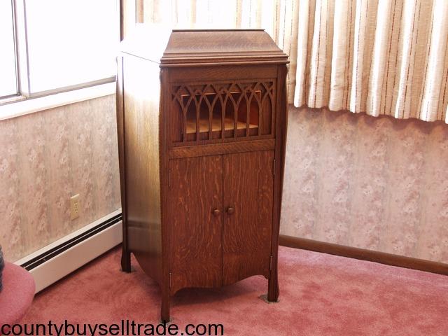 Beautiful Antique Standing Cabinet Gramaphone Circa 1919 In Montrose  Colorado - Antique Gramophone Cabinet MF Cabinets